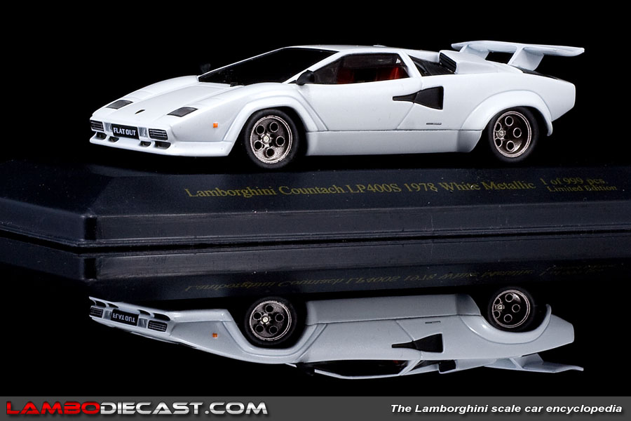 the 1 43 lamborghini countach lp400s from ixo a review by. Black Bedroom Furniture Sets. Home Design Ideas