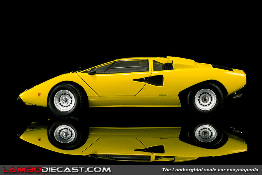 The 1 18 Lamborghini Countach Lp400 From Kyosho A Review