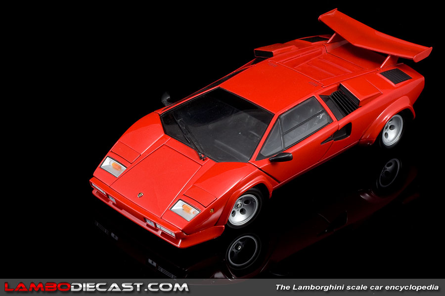 The 1 18 Lamborghini Countach Lp500s From Kyosho A Review