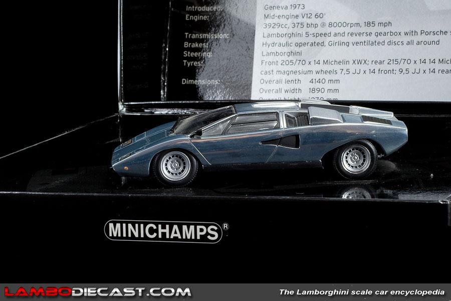 Lamborghini countach 1:43 minichamps