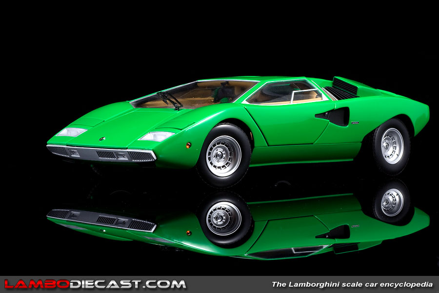 the 1 18 lamborghini countach production prototype from kyosho a review by l. Black Bedroom Furniture Sets. Home Design Ideas