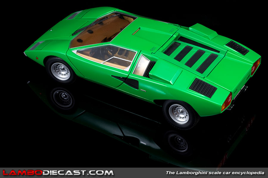 the 1 18 lamborghini countach production prototype from kyosho a review by. Black Bedroom Furniture Sets. Home Design Ideas