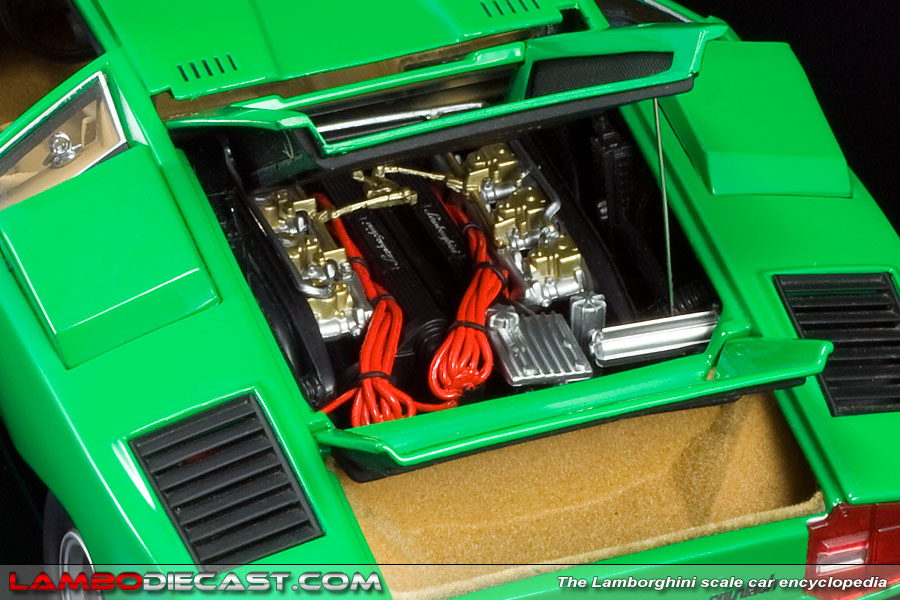 The 1 18 Lamborghini Countach Production Prototype From