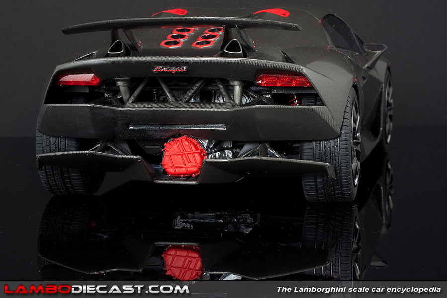 The 1 18 Lamborghini Sesto Elemento From Mr A Review By