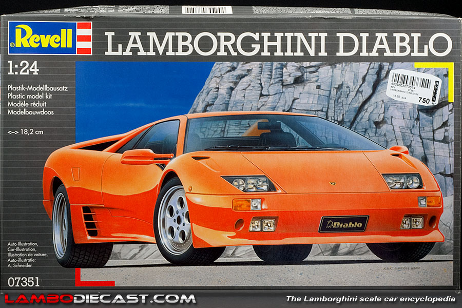 The 1 24 Lamborghini Diablo Vt From Revell A Review By Lambodiecast Com