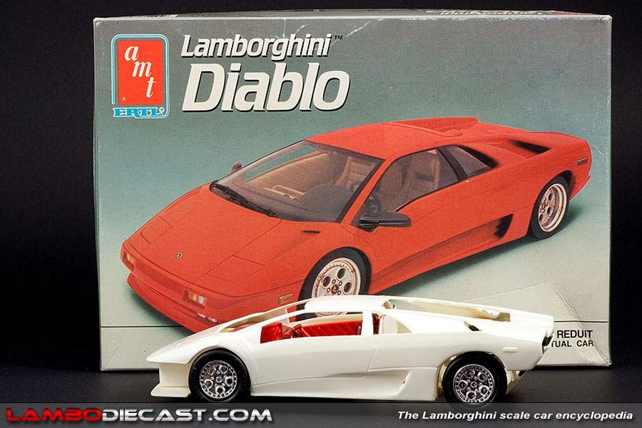 The 1 24 Lamborghini Diablo 2wd From Amt A Review By Lambodiecast Com