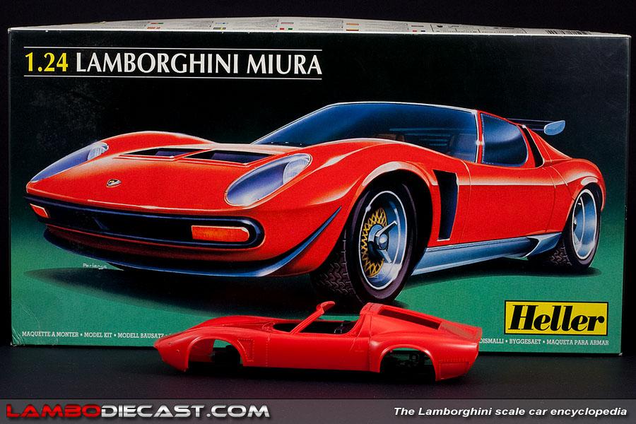 Lamborghini Miura Price >> The 1/24 Lamborghini Miura SVJ from Heller, a review by ...