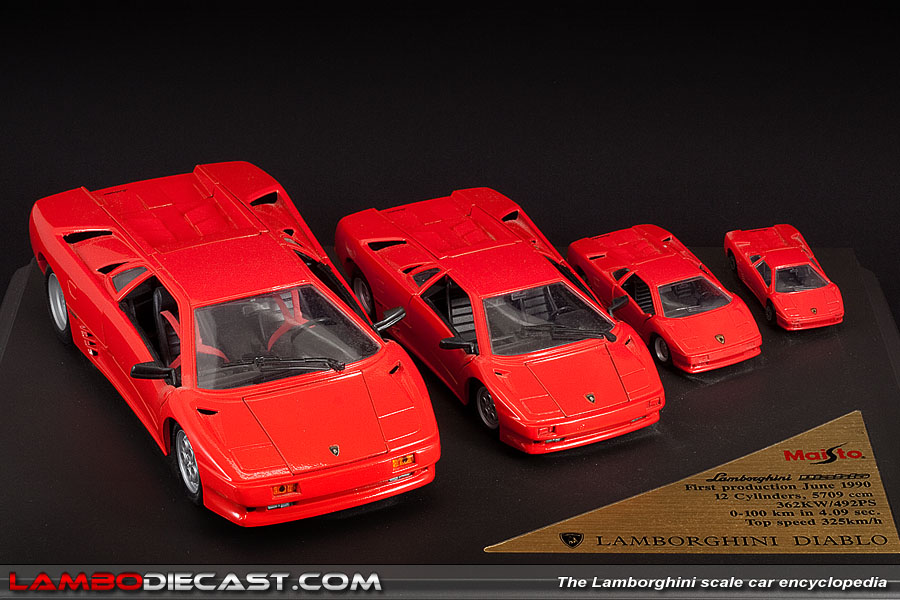 The 1 18 Lamborghini Diablo 2wd From Maisto A Review By