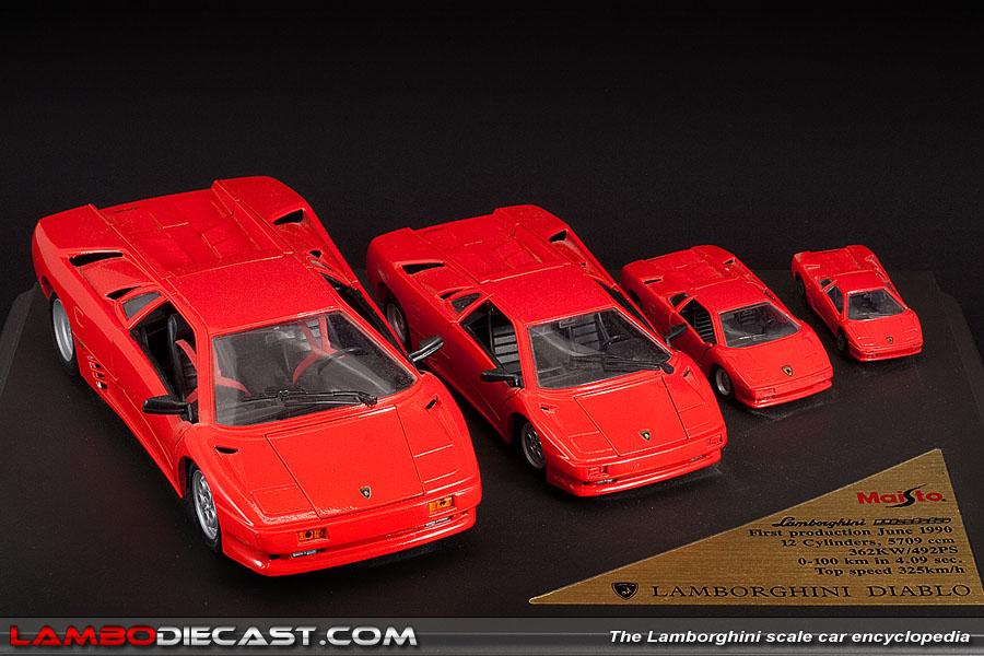 Lamborghini Diablo Honey I Shrunk The Car Diecast