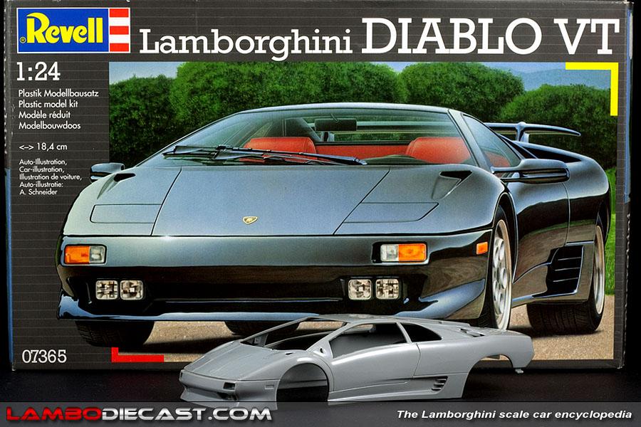 Lamborghini diablo revell