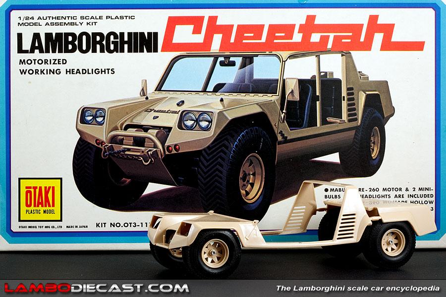 The 1/24 Lamborghini Cheetah from Otaki, a review by ... | 900 x 600 jpeg 181kB
