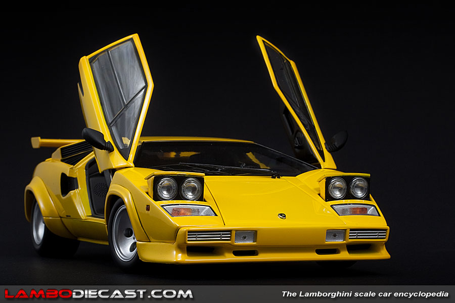 The 1/18 Lamborghini Countach LP500S from Kyosho, a review ...