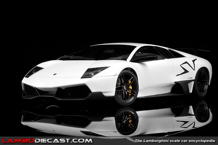 The 1 18 Lamborghini Murcielago Lp670 4 Sv From Autoart A Review By