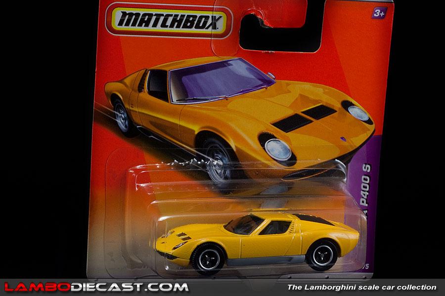 Lamborghini Miura Price >> The 1/64 Lamborghini Miura P400S from Matchbox, a review ...