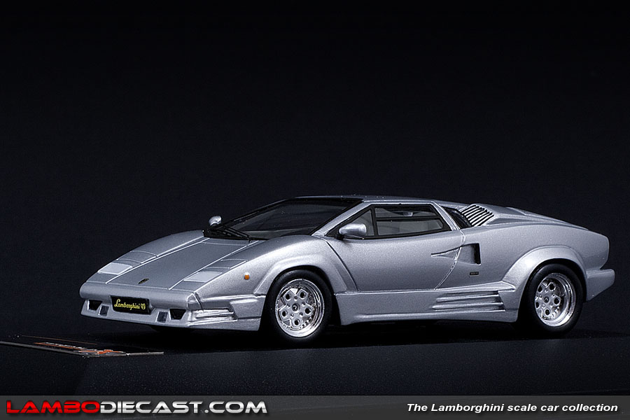the 1 43 lamborghini countach 25th anniversary from premium x a review by. Black Bedroom Furniture Sets. Home Design Ideas