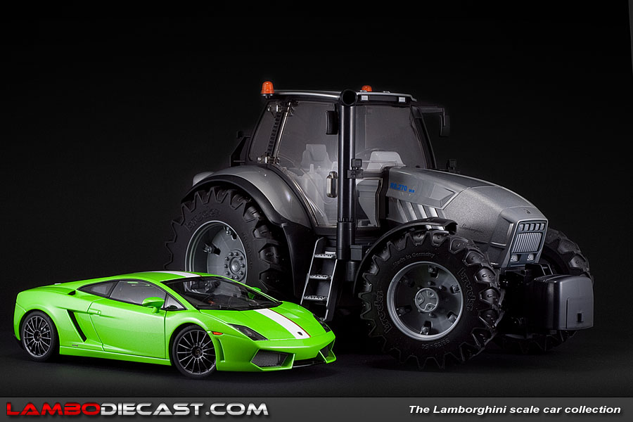 The 1 16 Lamborghini Tractor R8 270 Dcr From Bruder A Review By