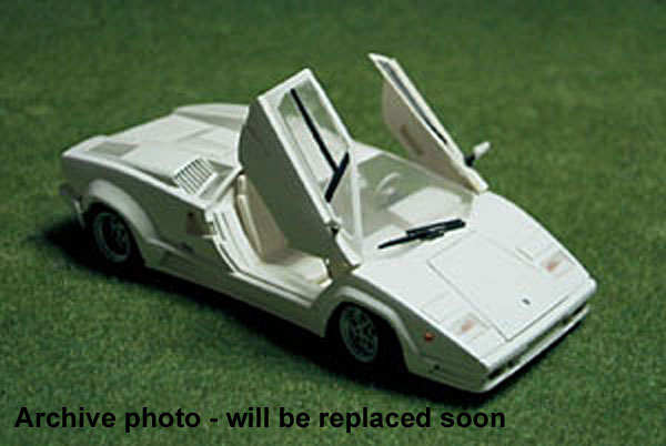 The 1 24 Lamborghini Countach 25th Anniversary From Fujimi