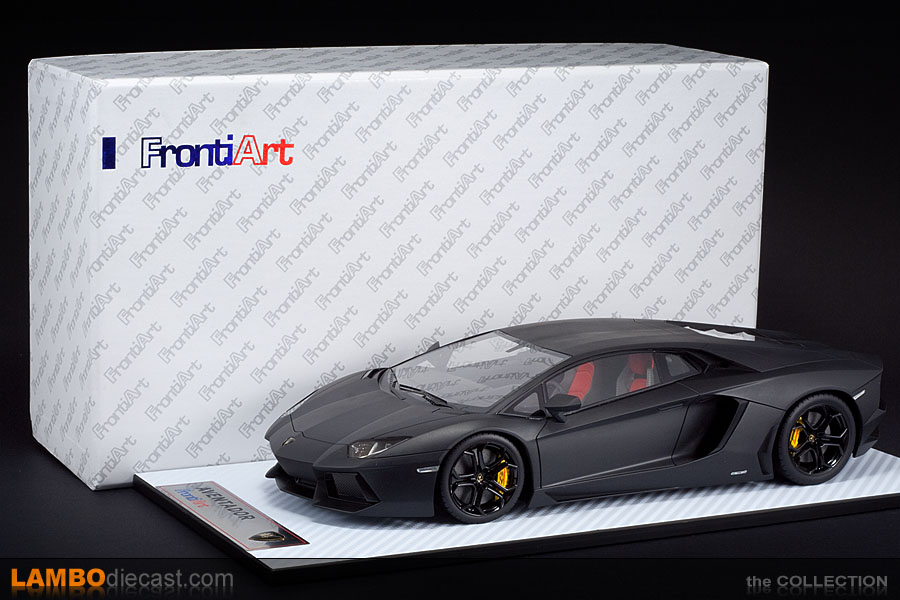The 1 18 Lamborghini Aventador Lp700 4 From Frontiart A
