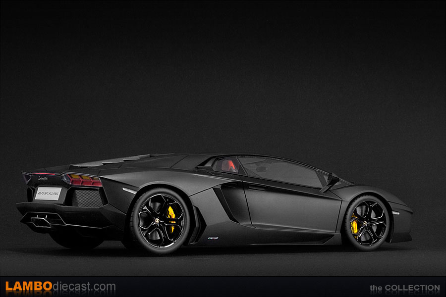 Lamborghini Aventador Lp700 4 Mat Black Lamborghini