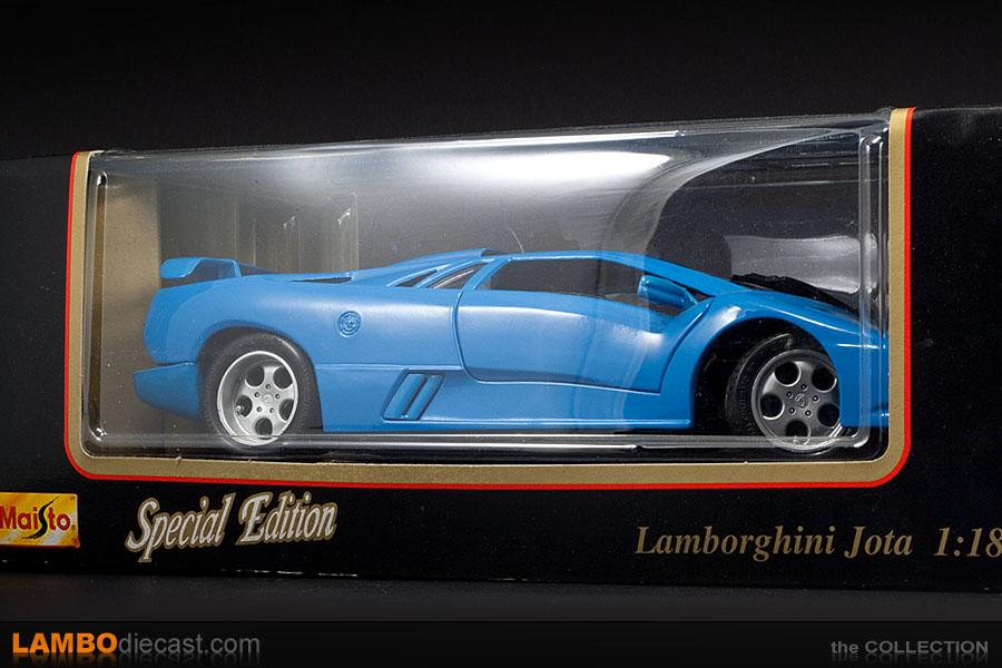 The 1 18 Lamborghini Diablo Se30 Jota From Maisto A Review By Lambodiecast Com