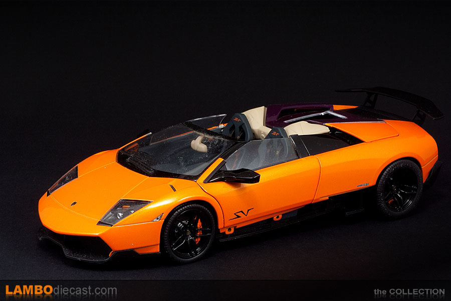 The 1 18 Lamborghini Murcielago Lp670 4 Sv Roadster From