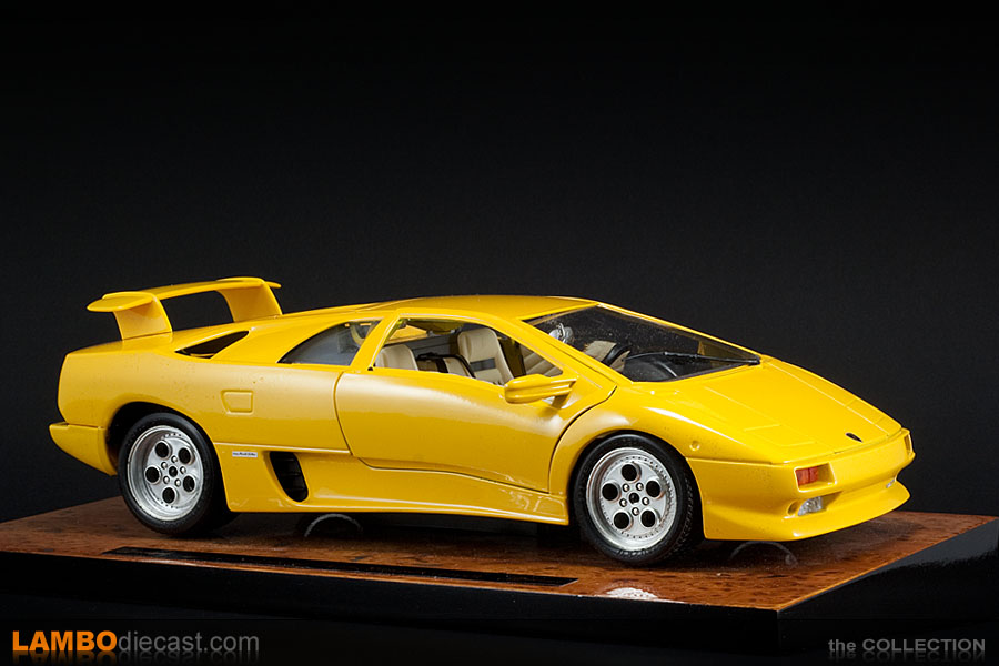 the 1 18 lamborghini diablo 2wd from bburago a review by. Black Bedroom Furniture Sets. Home Design Ideas