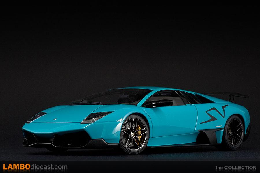 Lamborghini Murcielago Lp670 4 Super Veloce Turquoise