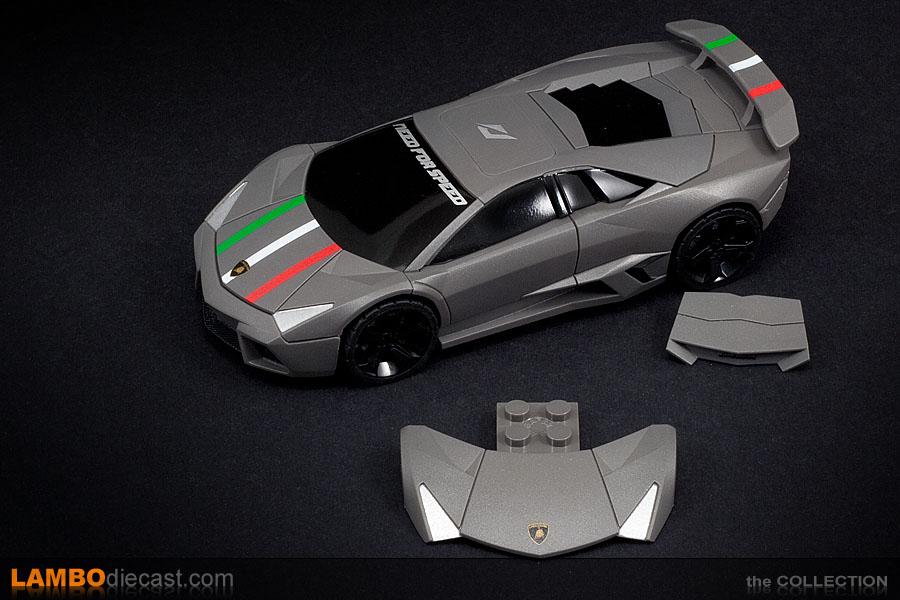 The 1/43 Lamborghini Reventon from Mega Bloks, a review by ...