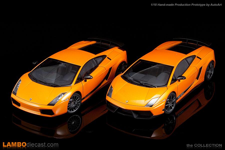 Lamborghini Gallardo Superleggera lp570-4 Orange 2007 74656 1//18 Autoart modelo