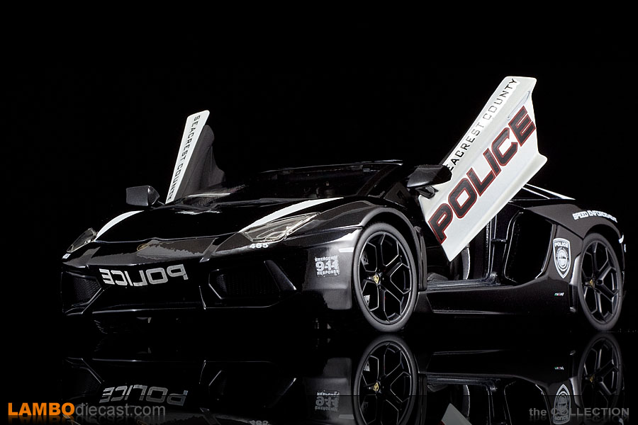 Police Cars For Sale >> The 1/18 Lamborghini Aventador LP700-4 from LamboDIECAST ...