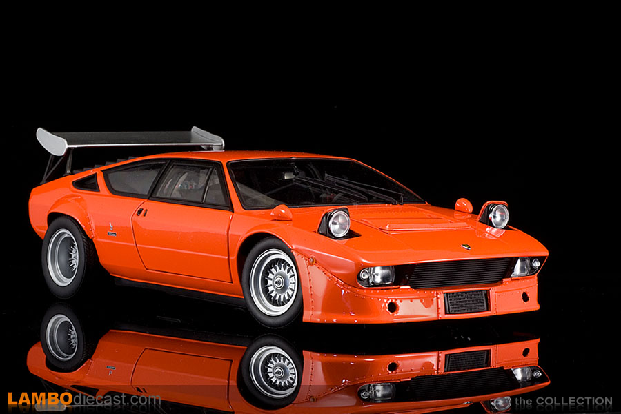 The 1/18 Lamborghini Urraco Rally from Kyosho, a review by ...