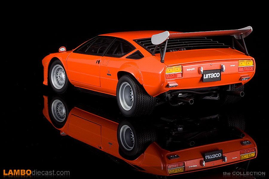 The 1 18 Lamborghini Urraco Rally From Kyosho A Review By