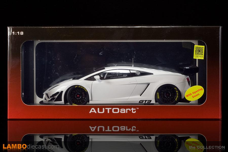 The 1 18 Lamborghini Gallardo Gt3 Fl2 From Autoart A Review By