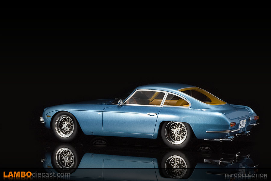 The 1/18 Lamborghini 350 GT from CMR, a review by LamboDieCast.com