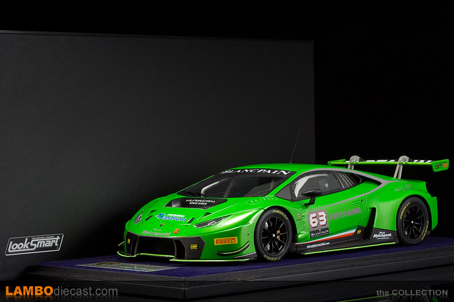 lamborghini huracan gt3 review the 1 18 lamborghini huracan gt3 from looksmart a review by. Black Bedroom Furniture Sets. Home Design Ideas