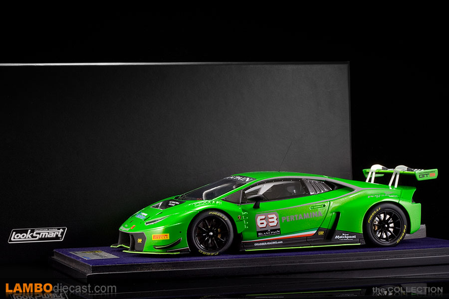 the 1 18 lamborghini huracan gt3 from looksmart a review by. Black Bedroom Furniture Sets. Home Design Ideas