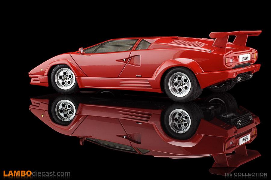 The 1 18 Lamborghini Countach 25th Anniversary From Autoart A