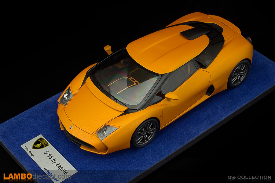 The 1 18 Lamborghini 5 95 Zagato From Looksmart A Review By