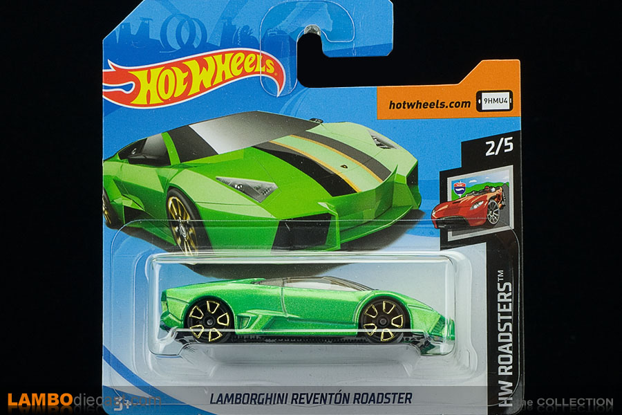 The 1 64 Lamborghini Reventon Roadster From Hotwheels A Review By