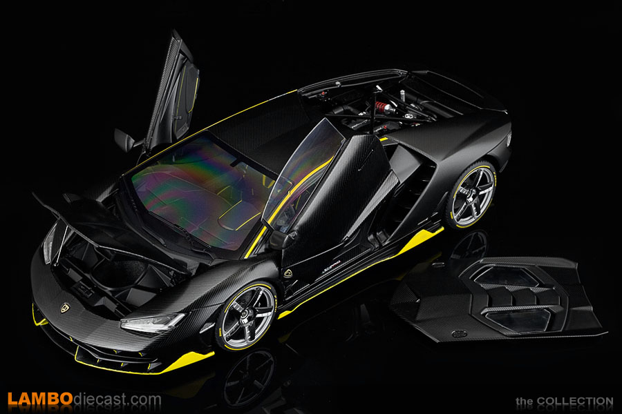 The sample model of the Lamborghini Centenario by AUTOart