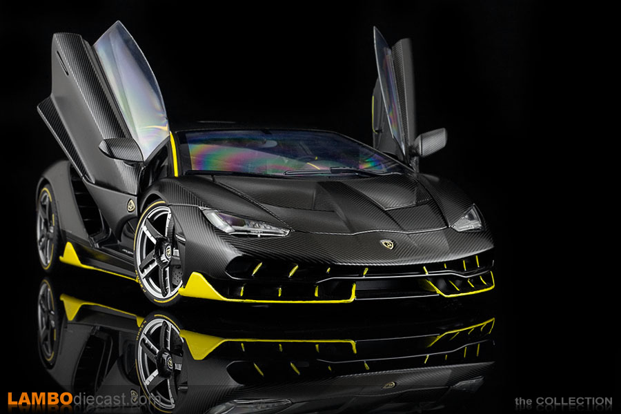 The Lamborghini Centenario is a very special car, this sample from AUTOart clearly shows that too
