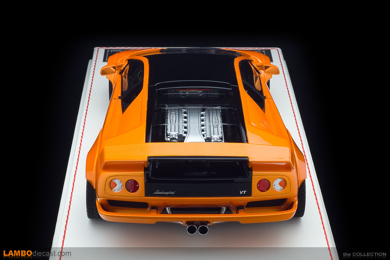A top view of the Diablo VT 6.0 Sunset Dream by Souki