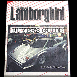 Illustrated Lamborghini Buyer's Guide by Rob de la Rive Box