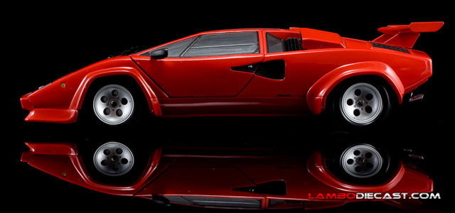 The 1 18 Lamborghini Countach Lp500s From Kyosho A Review By