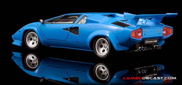 The 1 18 Lamborghini Countach Quattrovalvole From Kyosho A Review