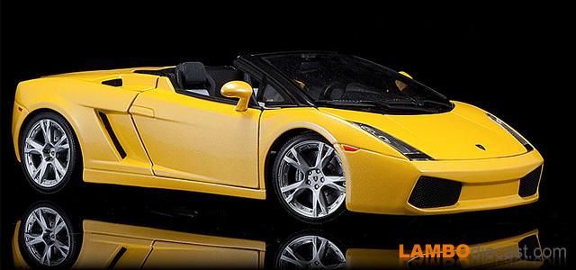 Lamborghini Gallardo Spyder • NEU • Maisto • 1:18