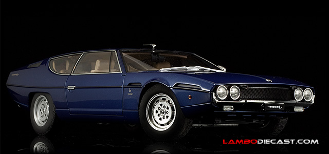 The 1 18 Lamborghini Espada Series Ii From Autoart A Review By Lambodiecast Com