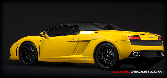 The 1 18 Lamborghini Gallardo Lp560 4 Spyder From Norev A Review By
