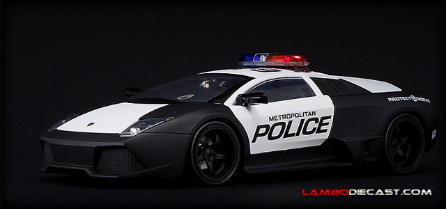 The 1 24 Lamborghini Murcielago Lp640 From Jada Toys A Review By