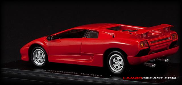 The 1 43 Lamborghini Diablo 2wd From Autostrada A Review
